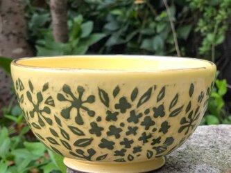 Kakiotoshi bowl - キンモクセイの画像