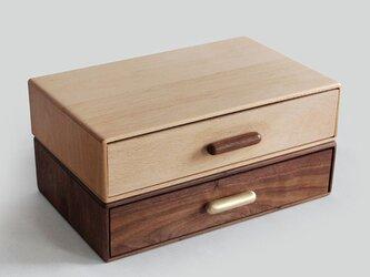 受注生産 職人手作り 木製 デスクトップ収納 ボックス A4ファイル オフィス 選別ボックス お洒落 北欧 無垢材 エコの画像