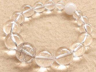 引き寄せた「良い流れ」を徹底的に保守する|シルバールチルクォーツ(銀針水晶)・アゼツライト・ブラジル産天然水晶の画像