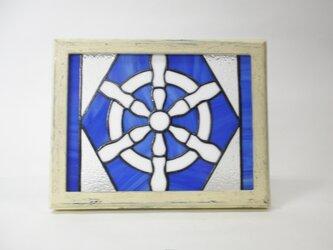 ステンドグラス ラット(舵輪 ステアリング)パネルの画像