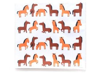 クリーニングクロス 馬の日常のかわいいしぐさの画像
