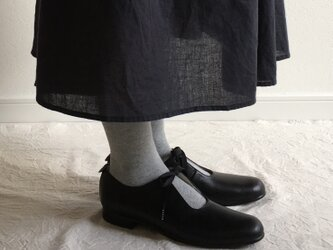 sizuku(紐結びの革靴*黒)の画像