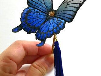 『N様オーダー分』蝶のかんざしの画像