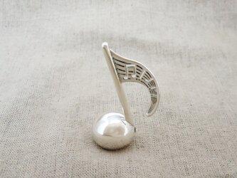 卓上の鈴 『 8分音符 』 銀製(シルバー925)の画像