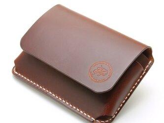 【受注生産】カードケース(名刺入れ) マレンマブラウンの画像
