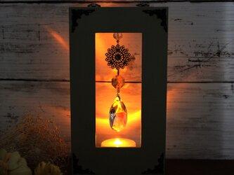 3way 壁掛け&置き型サンキャッチャー~虹舞~しずく型 Swarovski Crystalの画像