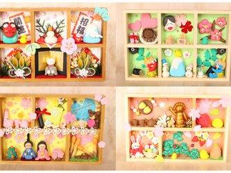 【送料無料】【粘土の小さな季節】季節の飾り12ヶ月セットの画像