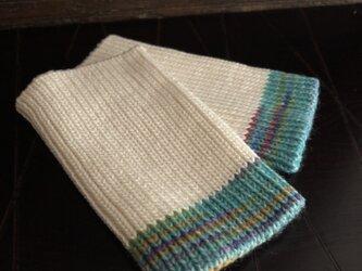 綿リストウォーマーの画像