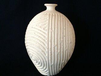 珊瑚砂しのぎ花器1の画像