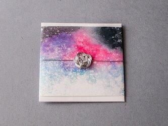 水引 ポチ袋 /『星雲-銀』の画像