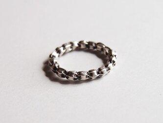 カレンシルバーの指輪の画像