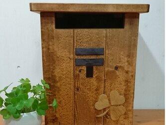 ★★木製郵便ポスト 郵便受け★★の画像
