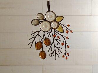ガラスのスワッグ[秋の小枝]の画像