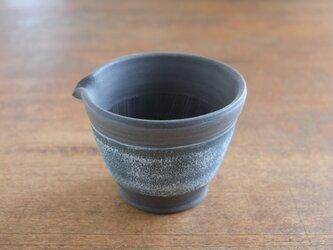 ゴマが飛び散らないすり鉢(小) インディゴの画像