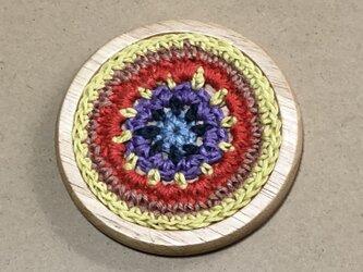 ☘️木製コースターB*(花)* 1枚の画像