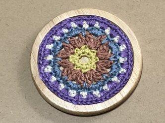 ☘️木製コースターC*(花)* 1枚の画像