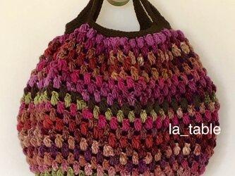ミルフィオリのバッグ「葡萄」の画像