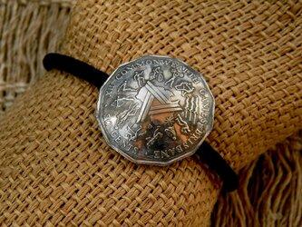 #H115  Australia Coin Hair Elasticの画像