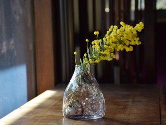 konoha花瓶すぼみくち黒の画像