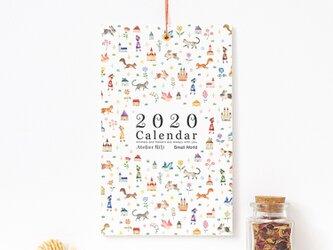 """絵本のかけら。2020年 壁掛け カレンダー """"ちいさな せかい"""" CA-A5T1の画像"""