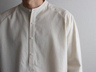 cotton flannel/raglan shirt/Ivory/size2(MAN)の画像
