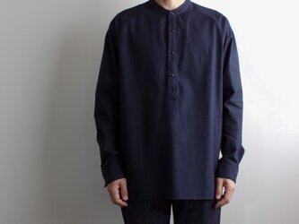 cotton flannel/raglan shirt/navy/size2(MAN)の画像
