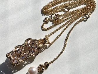 『 Intention ( heart & joy ) 』Necklace by K14GFの画像