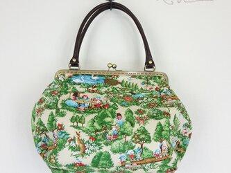 [予約販売] 森の中の白雪姫がま口BAGの画像
