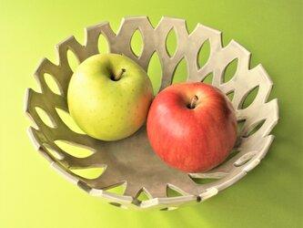 フルーツボウル 菓子鉢(ブラウン)Fruits bowl (brown) 陶磁器製 の画像