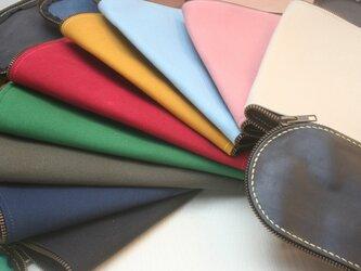 【帆布M】Lamtana-ランタナ- レザー&帆布 着せ替え Mサイズ用トートバッグ 帆布パーツの画像