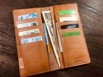 革の長財布 ワイルドの画像