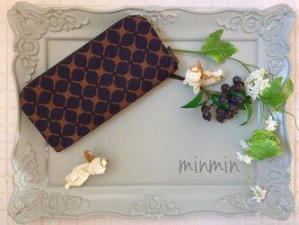 大人かわいい布財布の画像