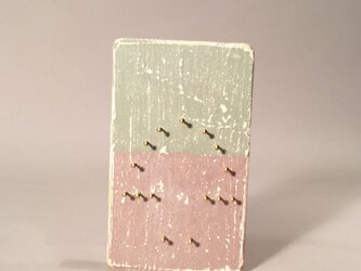キノコ  木枠  シャビーシック仕上   1の画像
