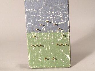 キノコ  木枠  シャビーシック仕上   2の画像