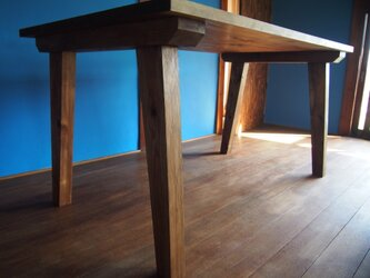 送料込 NAYAテーブル ヴィンテージダイニングテーブル サイズオーダー可 納屋にあるようなテーブルの画像