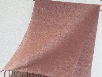 手織りストール A37の画像