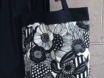 コンパクト おかいのもかばん  ナチュラルアートフラワー 受注製作の画像