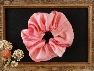 着物 浴衣 シュシュ 幸せを呼ぶ髪飾り 紅葉文の画像