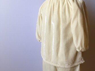 ベビー シルクベルベットパジャマの画像