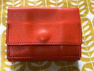 三つ折り財布・アリゾナ・オレンジの画像