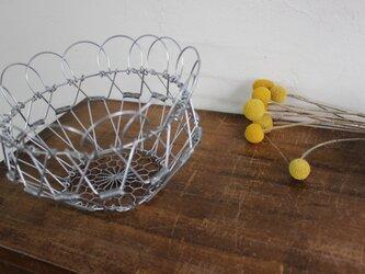 たためるフラワーバスケット(小)の画像