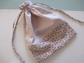 リバティ巾着の画像