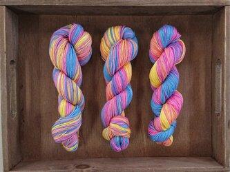 インダスからの贈り物(オリジナル段染め糸)㊹1本の画像