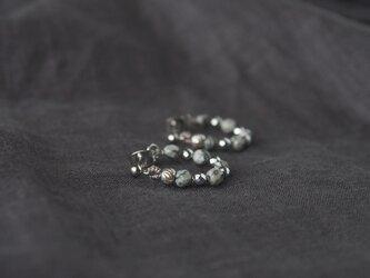 Gray&Silver Circle Pierceの画像
