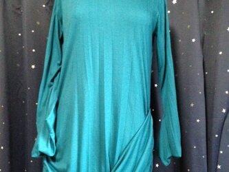 ドレープドレープ ツイストギャザードレスの画像
