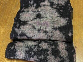 桜吹雪舞う名古屋帯の画像