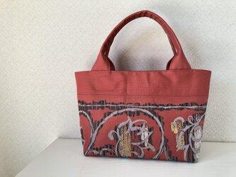 帯バッグ〜抽象柄〜の画像