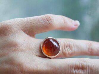 K10[ザクロワインのガーネット]ringの画像