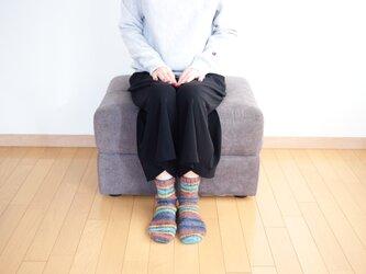 knit socks(mix) / ニット 靴下(ミックス)の画像