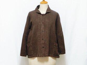 草木染めジャケットの画像